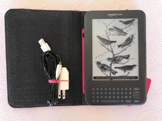 Kindle 3 Geracao Com Capa E Luz Embutida