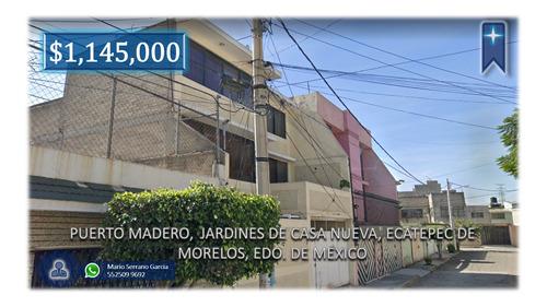 Imagen 1 de 10 de Ms Venta Casa En Jardines De Casa Nueva Ecatepec