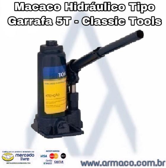 Macaco Hidráulico Tipo Garrafa 5t - Classic Tools