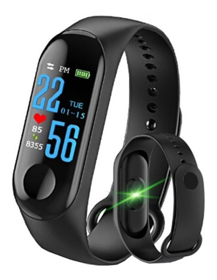 Pulsera Inteligente Monitor Fitness Ip68 Oled