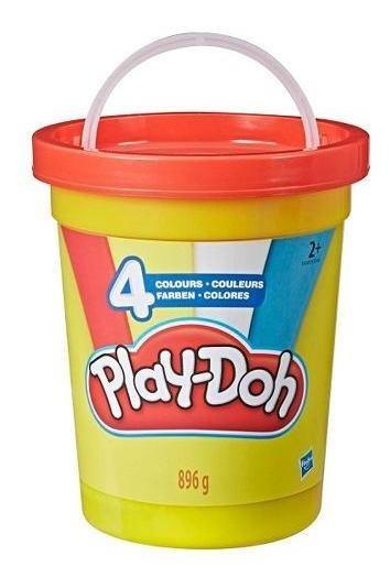 Masa Play Doh 4 Colores Pote De 896g