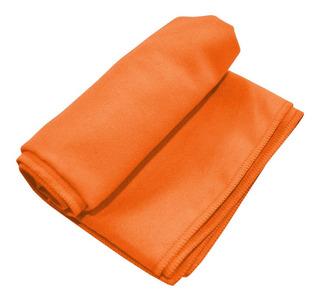 Toallón Microfibra Playa Naranja C/bolso Kushiro- Pintolindo