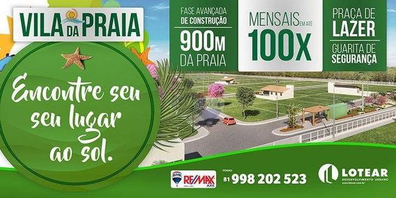 Loteamento Com Segurança - O Mais Próximo Da Praia - Te0005