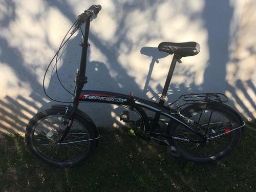 Bicicleta Plegable Top Mega Rodado 20