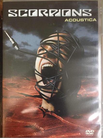 Dvd: Scorpions Acoustica - Original Um Shom Facinante