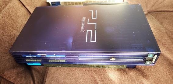 Playstation 2 Fat Midnight Blue