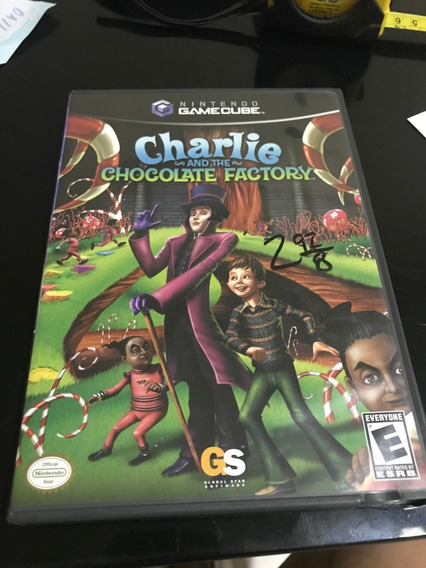 Charlie And The Chocolate Factory Original Nitendo Gamecube