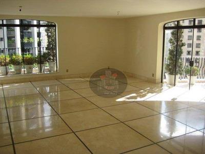 Apartamento Com 4 Dormitórios À Venda, 468 M² Por R$ 6.500.000 - Jardim Paulista - São Paulo/sp - Ap3892