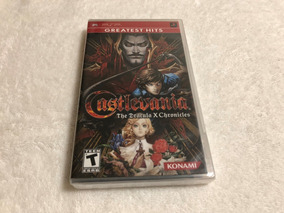 Castlevania The Dracula X Chronicles - Lacrado Região 1