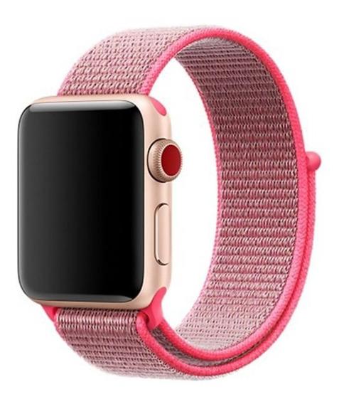 Correa Extensible Nylon Para Apple Watch Series 1 2 3 4