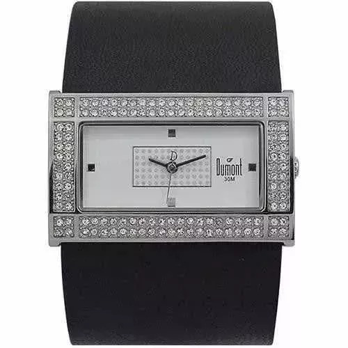 Relógio Feminino Dumont Analógico Sx35105/s - Preto