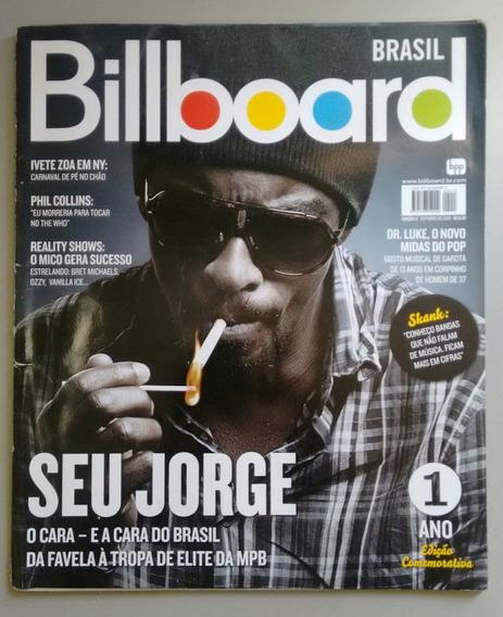Revista Billboard 13 Seu Jorge Ivete Sangalo Skank Y060