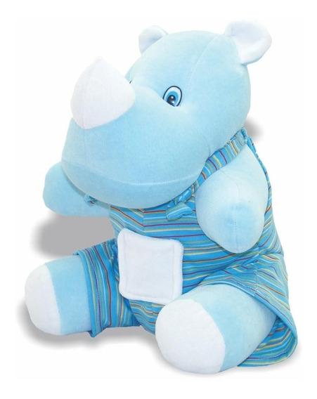 Pelúcia Rinoceronte Rino - Animais Aquáticos - Soft Toys