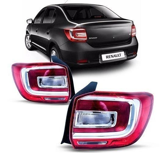 Lanterna Traseira Renault Logan 14 15 16 17 18 19 2020