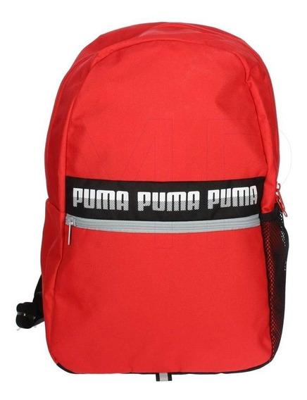 Mochila Puma Unisex Rojo Phase Backpack Ii 07559208