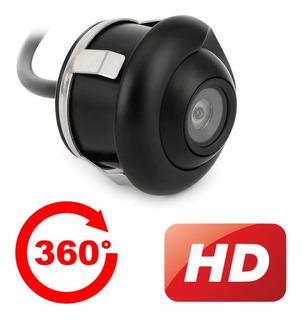 Câmera De Ré Ajustável 360 Graus C/ Visão Noturna Lançamento