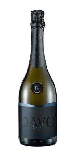 Davo Vinho Espumante Leve E Complexo Brut Noir Com 750 Ml