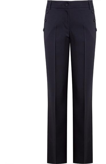 Calça Social Alfaiataria Pantalona Seiki Feminina 750022