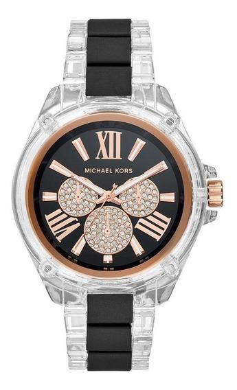 Relógio Michael Kors Wren Feminino Branco Mk6676/1bn