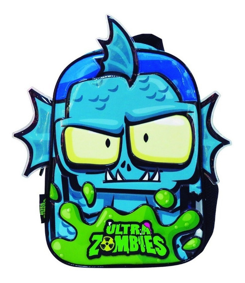 Mochila Zombie Infection 12 Pulgadas Om227 Orig!
