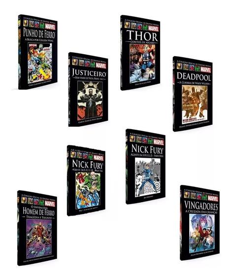 Coleção Livro Hq Graphic Novels Marvel Capa Dura (9 Un)
