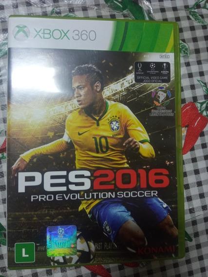 Pes 2016 Xbox 360 Original Em Midia Fisica