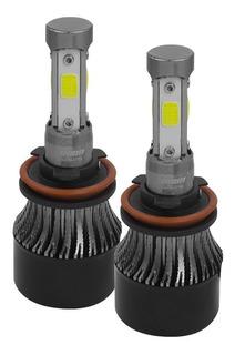 Kit De Led C4 Osun® Con 4 Caras De Alta Intensidad Para Faros Principales Y Auxiliares H7 9005 H11 9006
