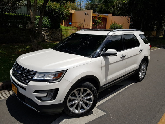 Ford Explorer Limited 4x4 Full Techo Cuero