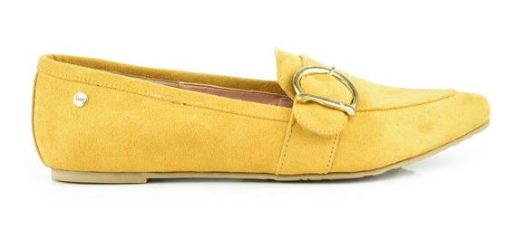 Flat Para Mujer Lob Footwear 455-9646 Ocre Nuevo Oi19