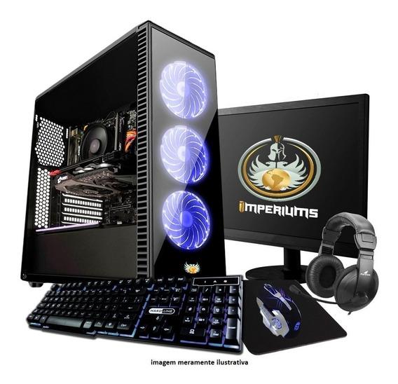 Pc Gamer Completo Amd A4 4.0ghz, 8gb, 19 Polegadas, Wifi