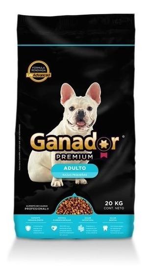 Alimento Para Perro Ganador Premium Adulto Rp 20kg