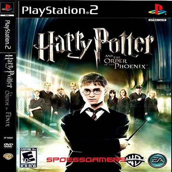 Harry Potter E A Ordem De Phoenix Ps2 Desbloqueado Patch