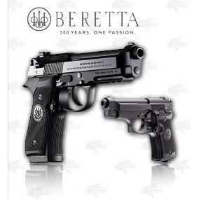 Marcadora Airsoft Beretta 92a1 Blowback Co2 Bbs .177 Cdmx