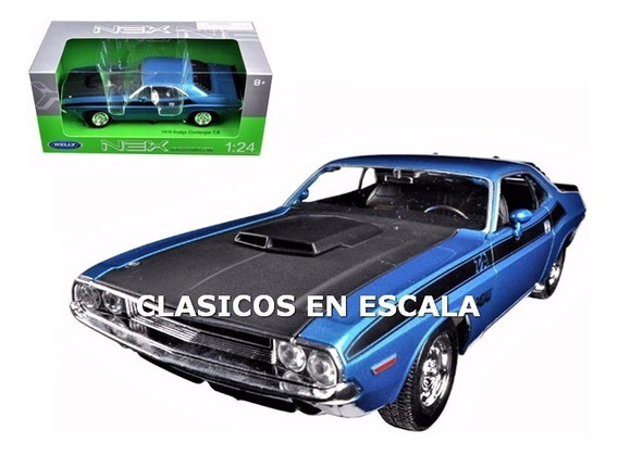 Dodge Challenger T/a 1970 - Clasico Americano - A Welly 1/24