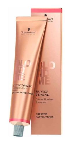 Imagem 1 de 1 de Schwarzkopf Professional Blondme Blonde Toning Creme Tonaliz