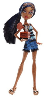Monster High Dead Cansado Robecca Steam Doll