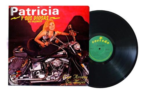 Disco Original Lp Patricia Teheran Y Sus Diosas Del Vallenat