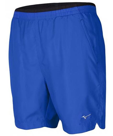 Bermuda Mizuno Tennis Master Chumbo Ou Azul