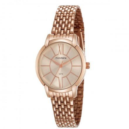Relógio Mondaine Feminino Rosê 53615lpmvre3 Mondaine