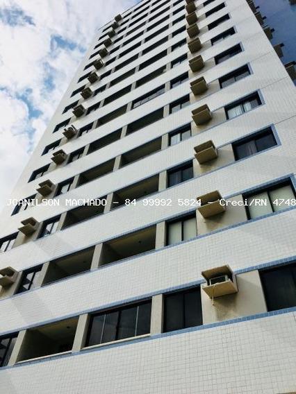 Apartamento Para Venda Em Natal, Lagoa Nova - Ed. Carmel, 2 Dormitórios, 1 Suíte, 2 Banheiros, 1 Vaga - Ap1156-ed Carmel