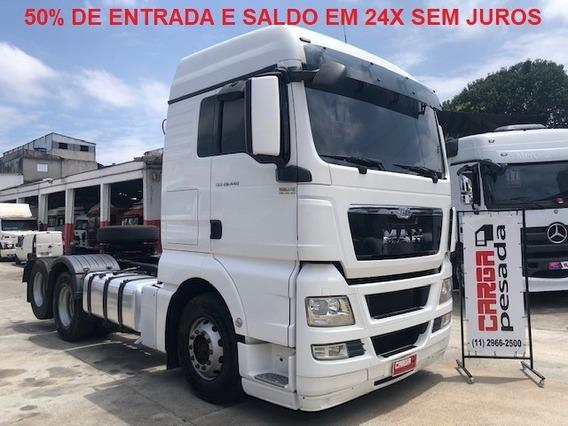 Man Tgx 28 440 2017 6x2 Entrada R$ 140.000,00 + 24x 5.750,00