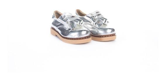Zapatos Nena Metalizados Blue Duck