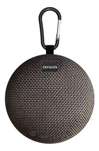 Imagen 1 de 3 de Parlante Aiwa Awax5btb Portátil Bluetooth 10 M Clip Negro