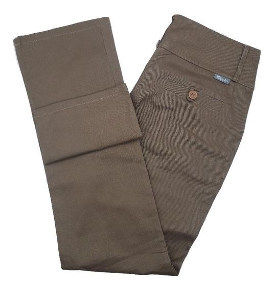Pantalón Gabardina Semi Elastizado Mujer Moda Okoche Ok6361