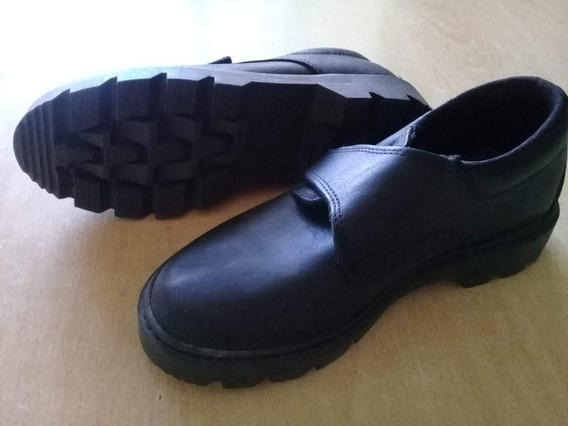 Zapatos Negros Escolares Nro 32
