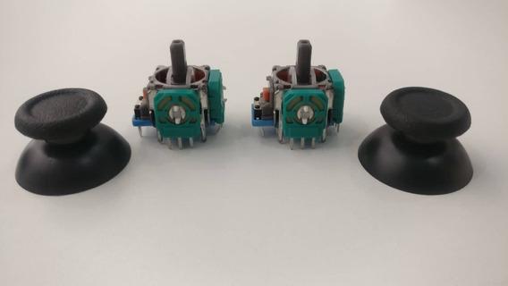 Analógico Controle Ps4 Potenciômetro 2 Kits Reparo Novo