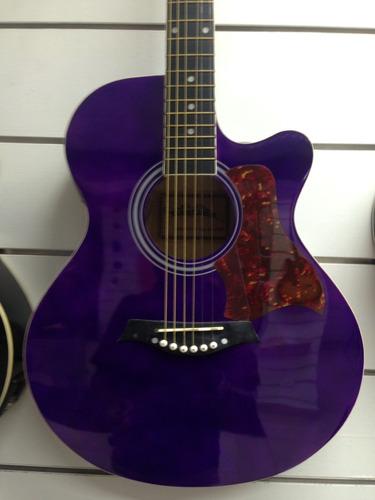 Guitarra Electroacustica Con Afinador Integrado