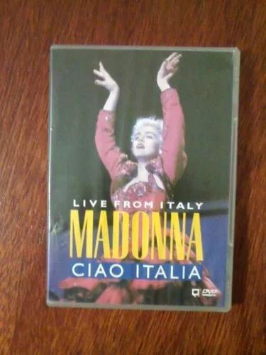 Dvd Madonna Live From Italy Ciao Italia