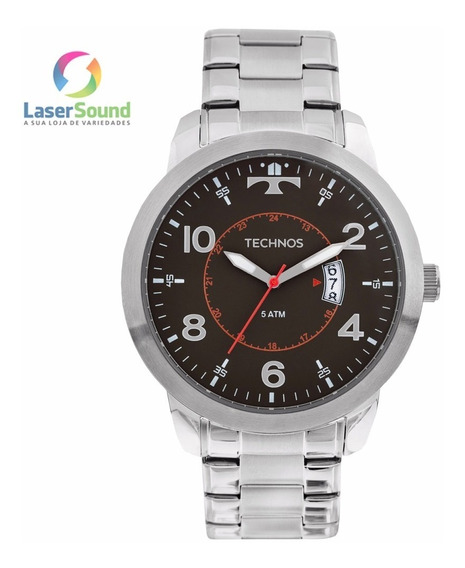 Relógio Technos Masculino 2115ktm/1p , C/ Garantia E Nf