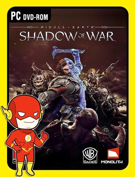Middle Earth Shadow Of War Pc - Steam Key (envio Flash)